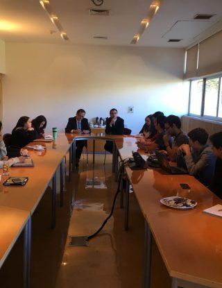 Grupos organizados UAI participan en reunión con Rector