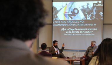 Adolfinos reflexionan sobre Chile a 30 años del NO