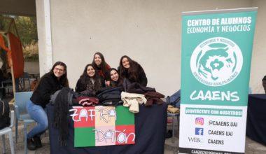 CAAENS y TTVV unidos por la solidaridad