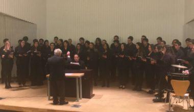 El Coro UAI se presenta en el Campus Viña Del Mar
