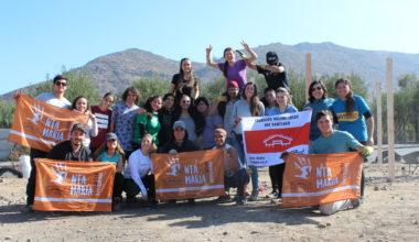 Estudiantes de Trabajos Voluntarios se comprometen con la comunidad