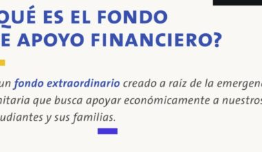 Fondo de Apoyo Financiero: Cómo, cuándo y dónde postular.