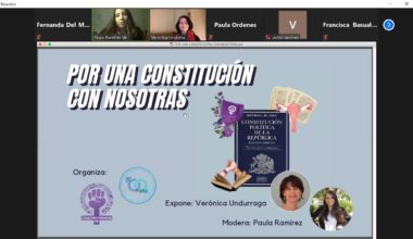 Equitas y Cofem plantean «Una constitución con Nosotras».