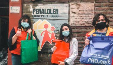 Más África: Entrega Kits D_Arte a niños y niñas de Peñalolén