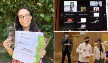 Festival Estudiantil: Premiaciones a Organizaciones Estudiantiles 2020