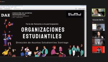 Feria online de Fomento a la Participación: Organizaciones Estudiantiles