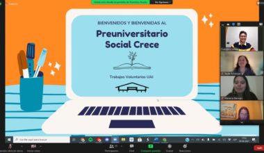 Inauguración 2021 del Preuniversitario Social Crece