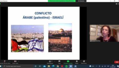 Charla magistral y foro de discusión sobre el conflicto árabe-israelí