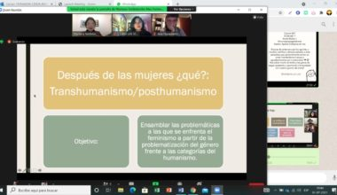 Estudiantes de Santiago y Viña se unen en un Taller de Feminismos