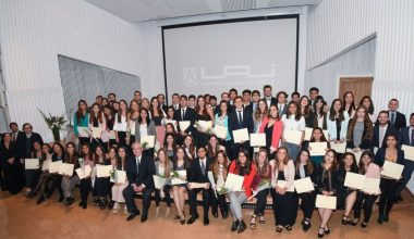 Ceremonia de reconocimiento a Méritos Académicos