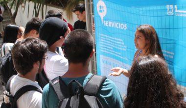Campus Viña da la bienvenida a estudiantes de regiones y extranjeros