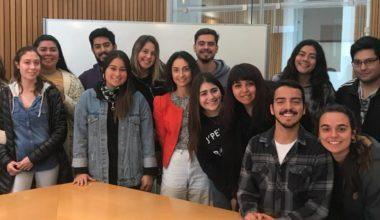 Ombudsperson UAI visita el Campus Viña y a sus representantes estudiantiles