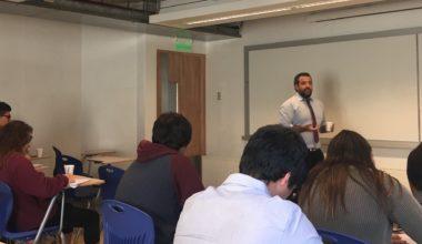 Centro de Alumnos de Derecho organiza primera sesión del Seminario de Litigación
