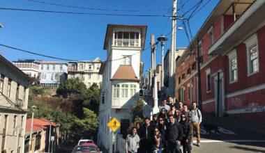 ¡Un tour por Valparaíso!
