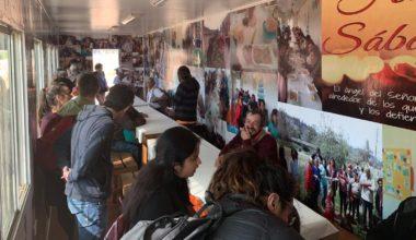 Un comedor solidario de CAAENV en Puente Cancha
