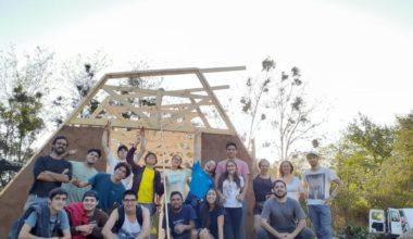 Estudiantes construyen invernadero en escuela rural de Olmué con apoyo de Fondos Concursables DAE
