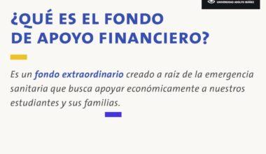 Fondo de Apoyo Financiero: Cómo, cuándo y dónde postular