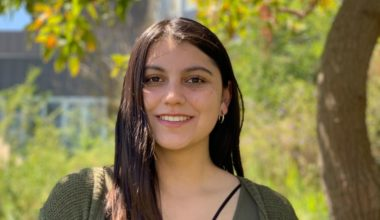 """Nicole Morales, presidenta CEEPSI 2020: """"Considero que mis capacidades me permitirán hacer un aporte para la comunidad estudiantil"""""""