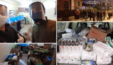 FEUAI entrega apoyo a vecinos y vecinas con Gran Colecta de Achupallas