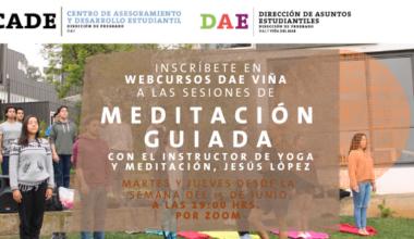 Inscríbete a las sesiones de Meditación Guiada y potencia tu concentración