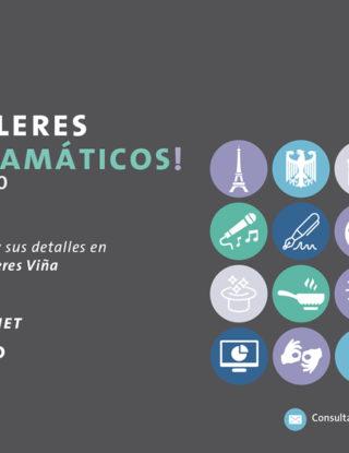 ¡Visita la Feria Virtual de Talleres!