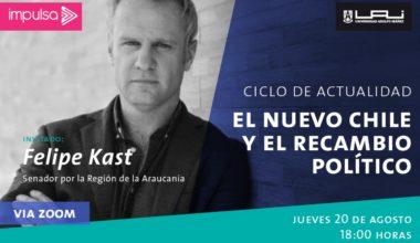 Impulsa invita a Felipe Kast a conversar del nuevo Chile y el recambio político