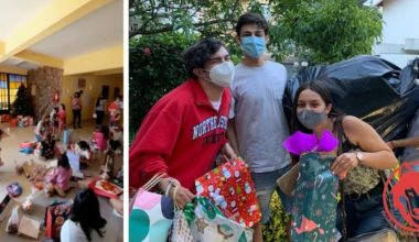 CEEP recolecta regalos de navidad para más de 40 niños y niñas de la región