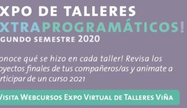 ¡Visita la Expo de Talleres!