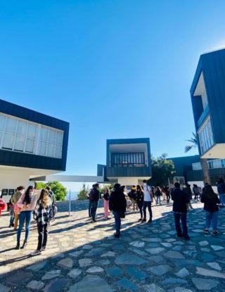 #UAINosCuidamosEntreTodosYTodas: Exitoso primer día de retorno híbrido en el Campus Viña