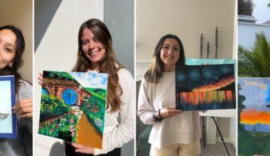 Taller de Pintura como medio de expresión personal de estudiantes UAI